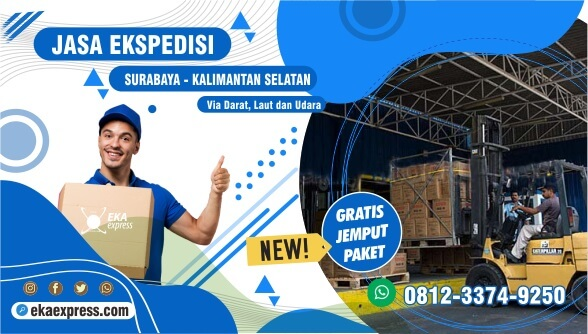 Ekspedisi Murah Surabaya Hulu Sungai Selatan Terbaik WA 0812-3374-9250